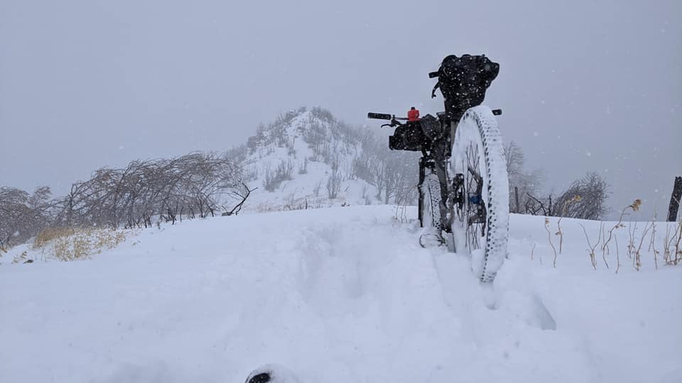 Another Snow Day on the Arizona Trail